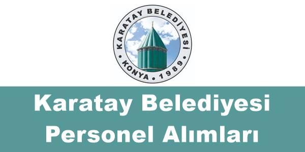 Karatay belediyesi personel alımı