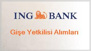 İng bank gişe yetkilisi alımı