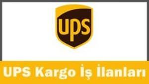 UPS Kargo iş başvurusu
