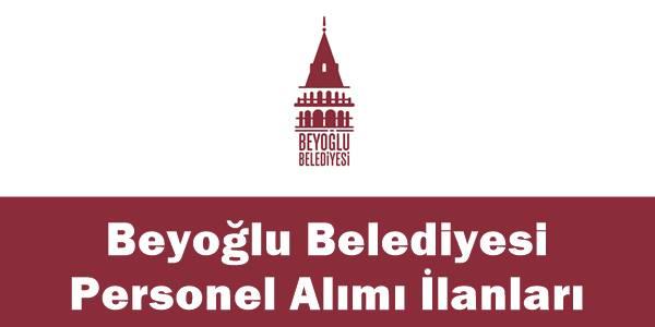 Beyoğlu belediyesi personel alımı