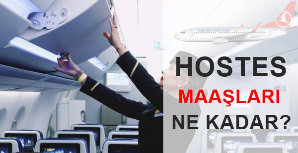 hostes maaşları