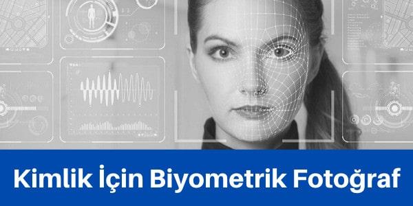 kimlik için biyometrik fotoğraf