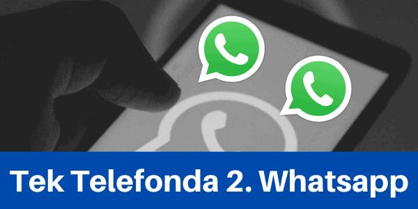 ikinci whatsapp