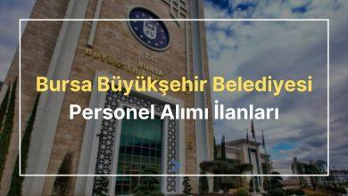 bursa büyükşehir belediyesi personel alımı ilanları